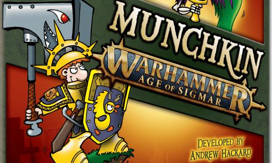 Munchkin Warhammer Age of Sigmar announced.
