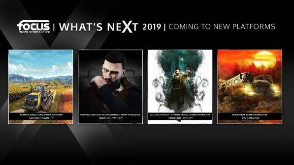 Vampyr, Farming Simulator and Call of Cthuluhu are coming to Switch in 2019