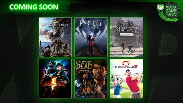 Six new games are coming to Xbox Game Pass in April