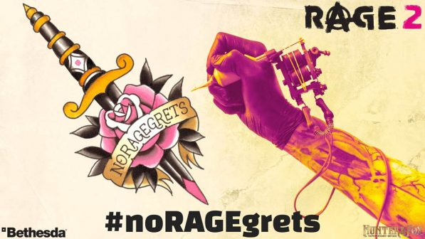 Bethesda is giving Aussies a chance to get a free Rage 2 tattoo