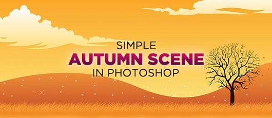 Create-a-Simple-Autumn-Scene-in-Photoshop