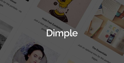 Dimple - Multipurpose Creative Agency Theme