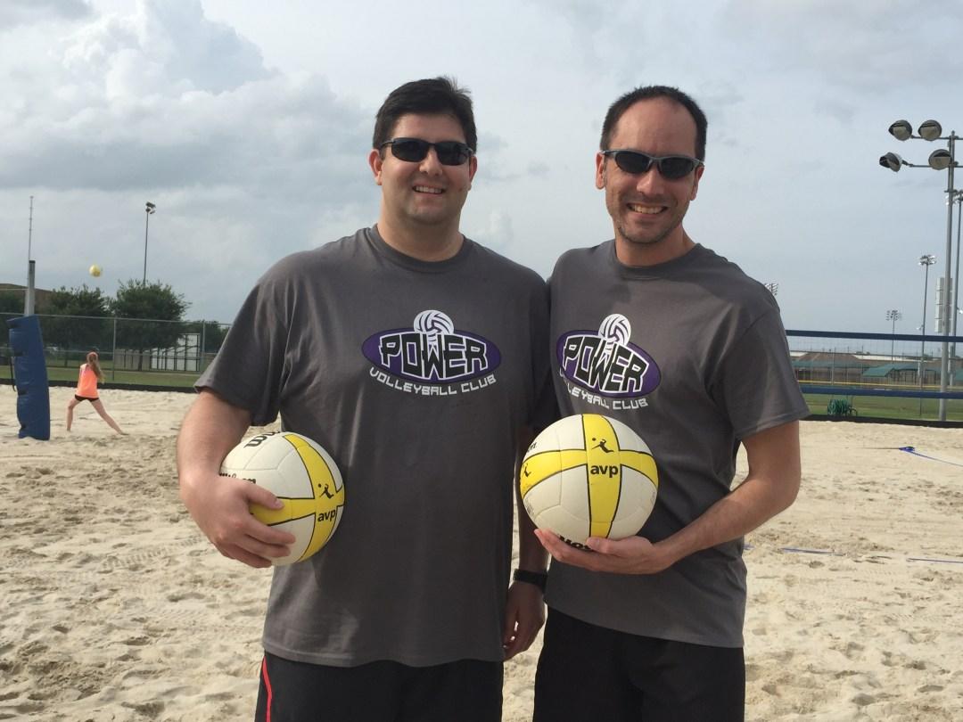 Chris and Tony Power Beach