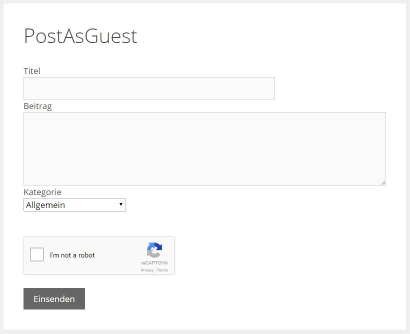 WP Post as Guest 0.9.8