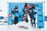 Podium Femmes Snowboard - ©Dom Daher