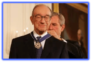 Alan Greenspan – The Maestro Receive His Just Reward