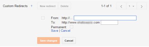 blogger-custom-redirect