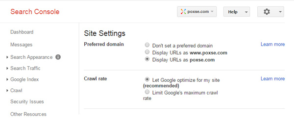 google-webmaster-set-preferred-domain