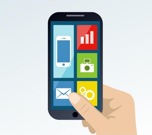 smartphone-in-hand-free-vector_23-2147491737