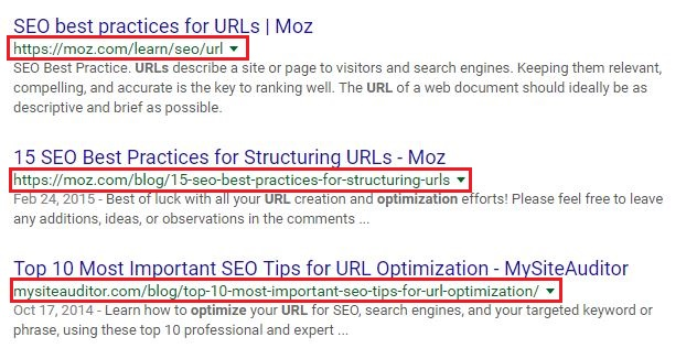 URL optimization