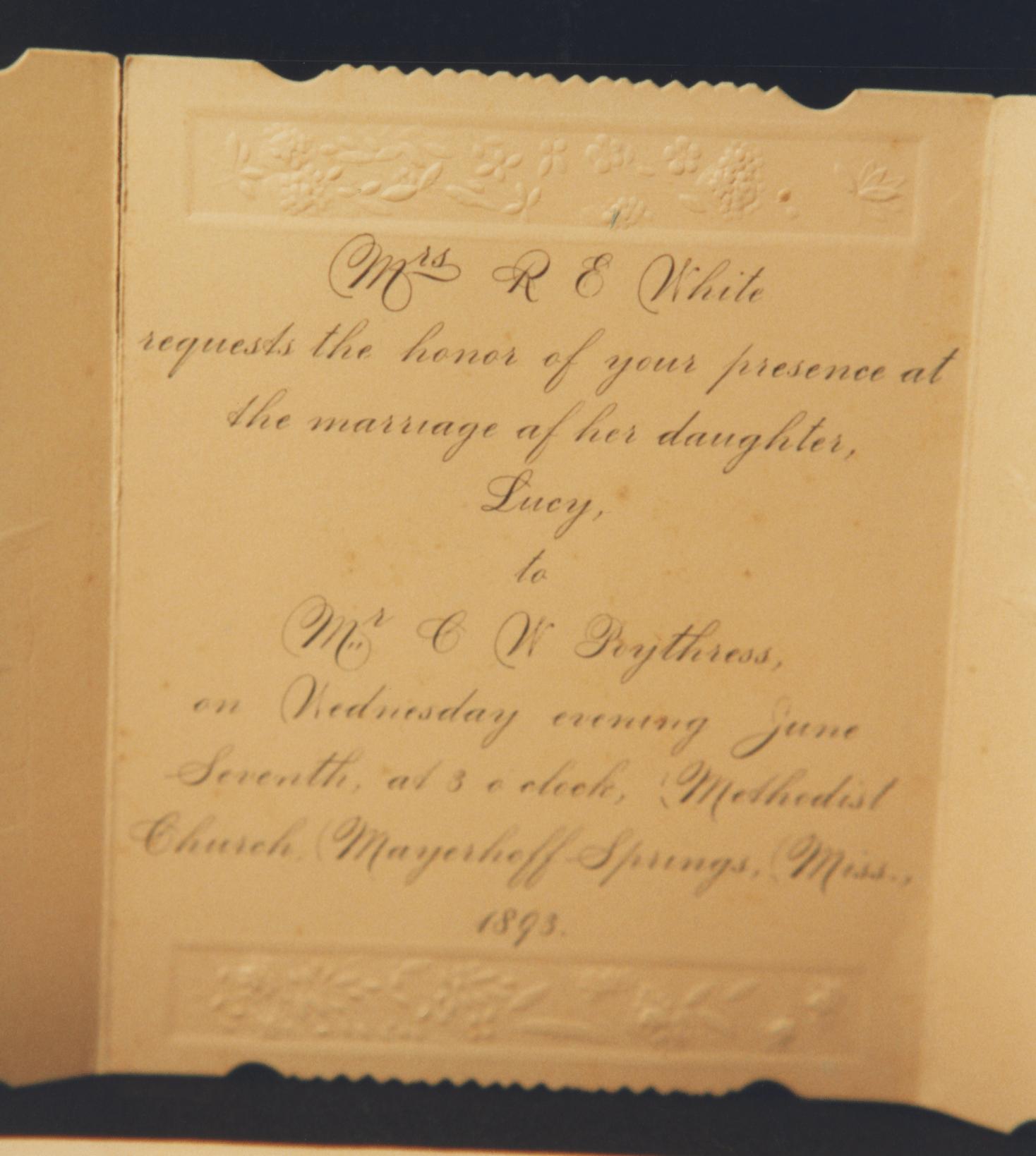 Poythress Surname History
