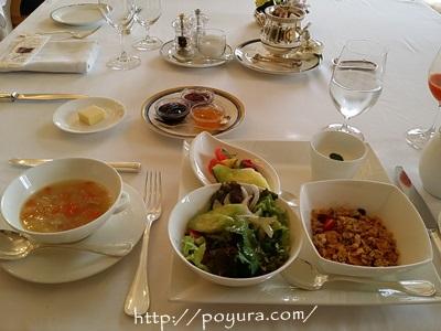 ホテル阪急インターナショナルの朝食