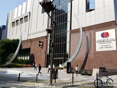 ホテル阪急インターナショナルの外観