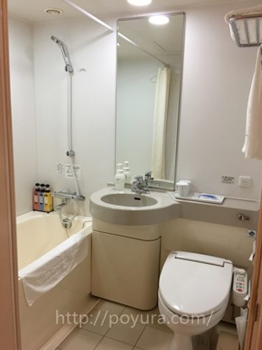 ダイワロイネットホテル博多祇園のお風呂