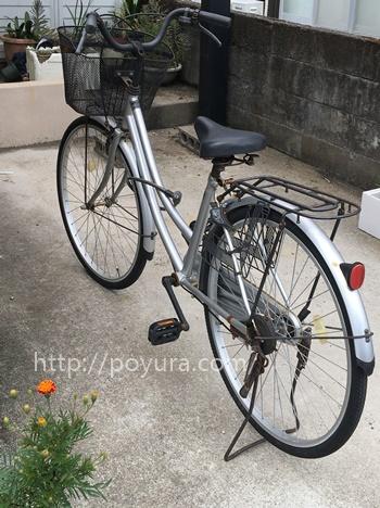 26インチ自転車は高齢者には危ない