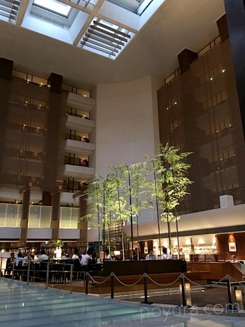 ストリングスホテルインターコンチネンタル東京ロビー