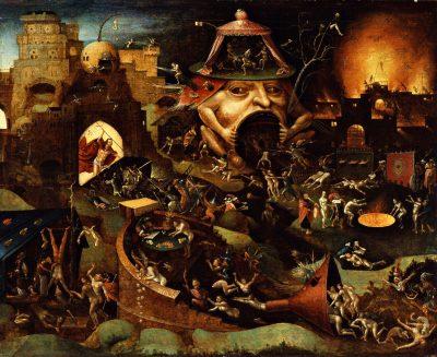 Naśladowca Boscha – Jezus zstępuje do Piekła (1575