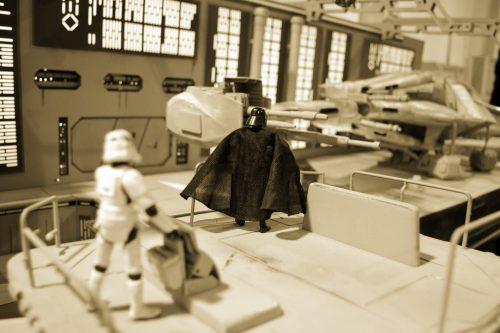 Vader szykuje się do odlotu