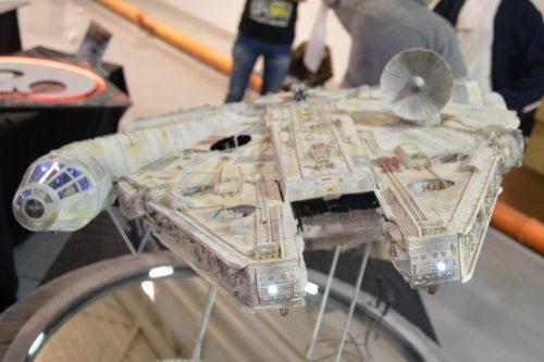 Niestety, Han i Chewie wyszli z kabiny na czas konwentu
