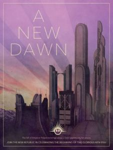 new dawn republika plakat