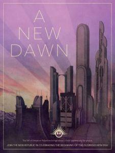 new dawn republika plakat