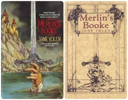 jane yolen merlin's booke okładki