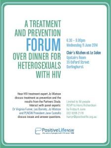 Het Treatments Forum invite 11 June 2014