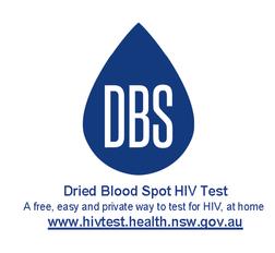 Dried Blood Spot Test www.hivtest.health.nsw.gov.au