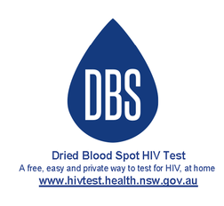 Dried Blood Spot Test www.hivtest.health.nsw.gov.au