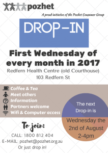 Pozhet Drop-In Wed 2nd August 2017