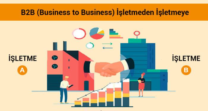 E-Ticaret: B2B (Business to Business) İşletmeden İşletmeye