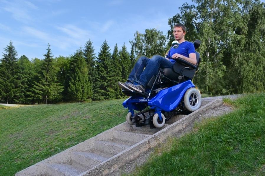 В России создана коляска, управляемая мыслью!