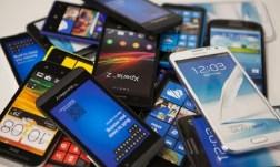 однотипные смартфоны