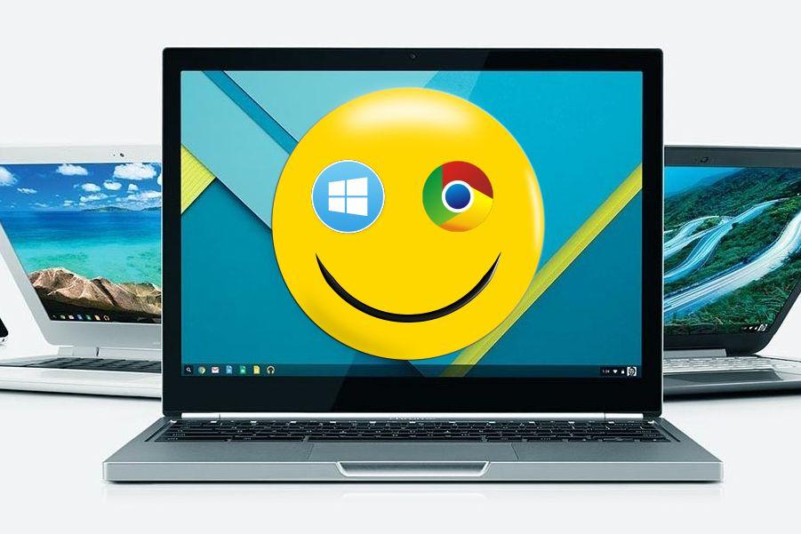 Windows 10 появится в хромбуках.
