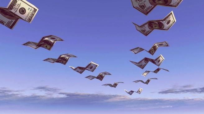 летят деньги