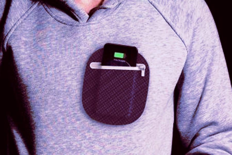 Panasonic представила карман-зарядку для смартфонов.