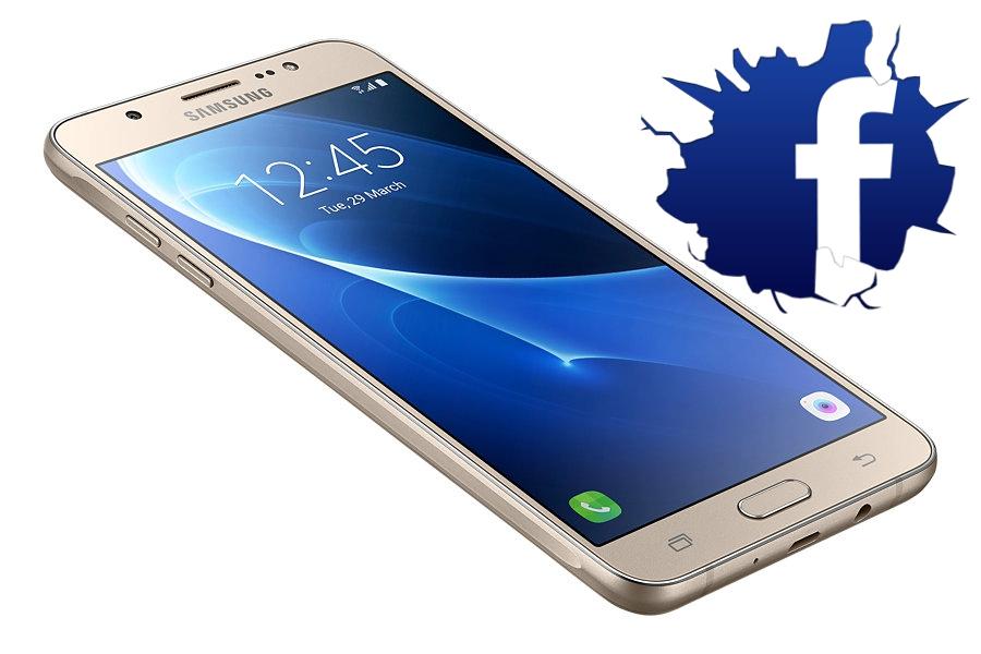 Facebook «живет» в Samsung!
