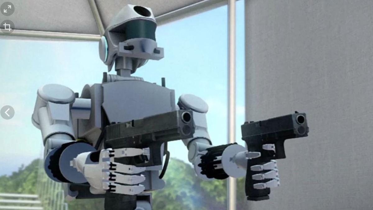 Робот Федор начал стрелять и остался без запчастей