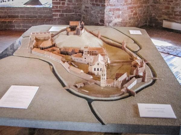 Wieża Giedymina - makieta zamku