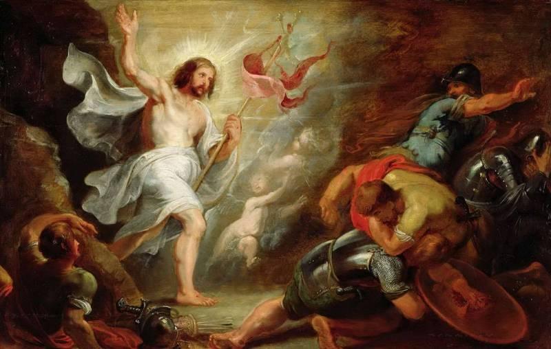 Рубенс. Воскресение Христа.