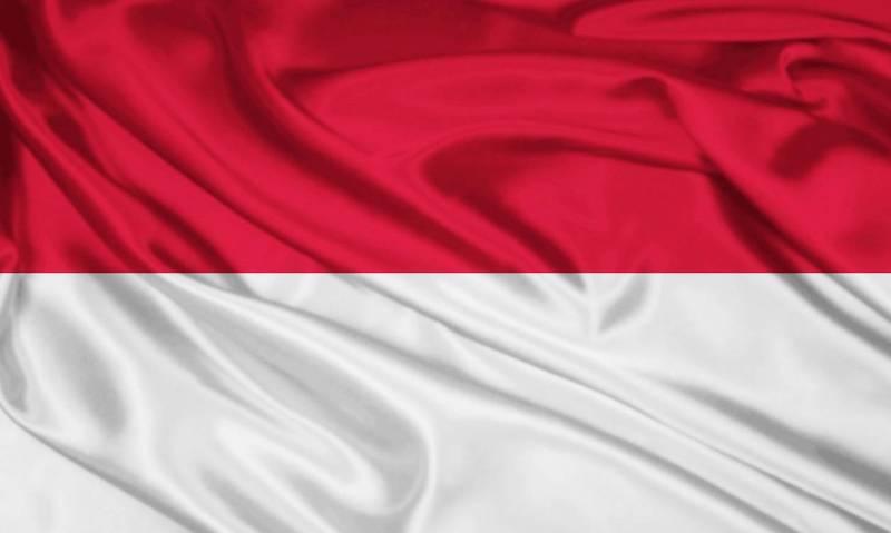 Флаг Индонезии.