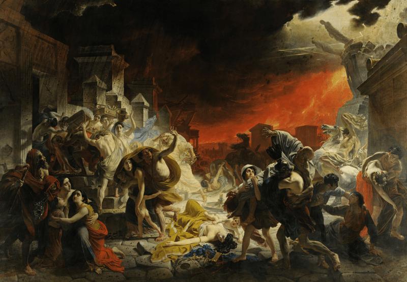 Картина «Последний день Помпеи», Карл Брюллов.