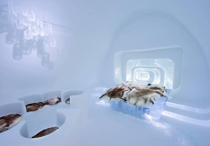 Ледяная гостиница. Швеция. 2015.