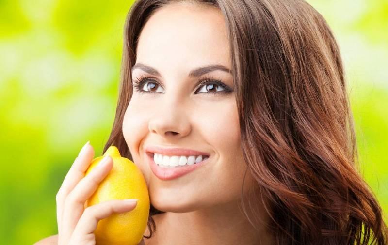 Девушка лимон улыбка фото