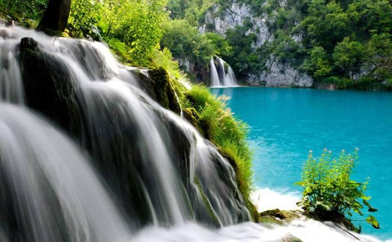 Плитвиц водопад фото