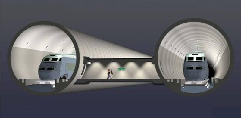 Вакуумный поезд Гиперпетля