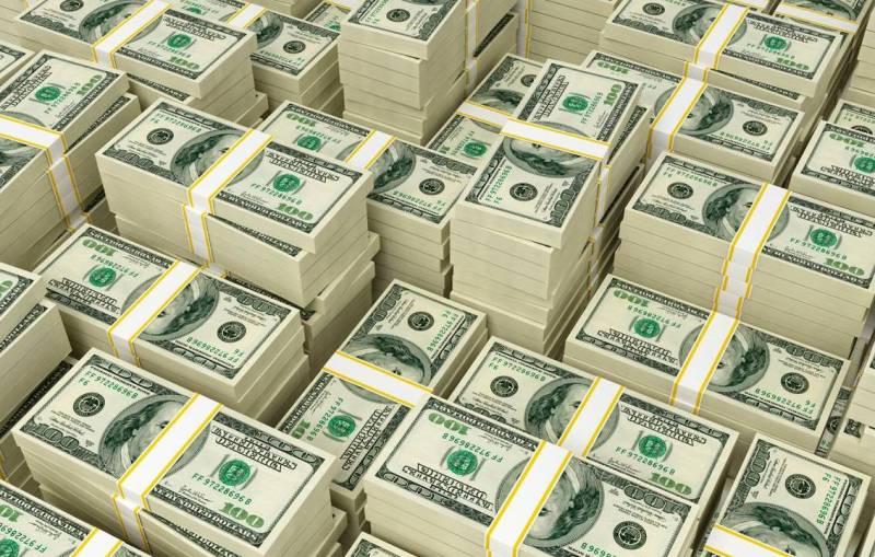 Доллары стопка фото