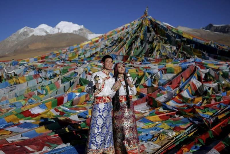 Свадьба в Тибете фото