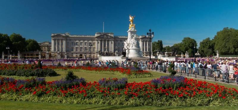 Букингемский дворец, Лондон.