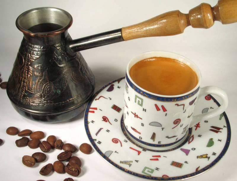 кофе турка зерна